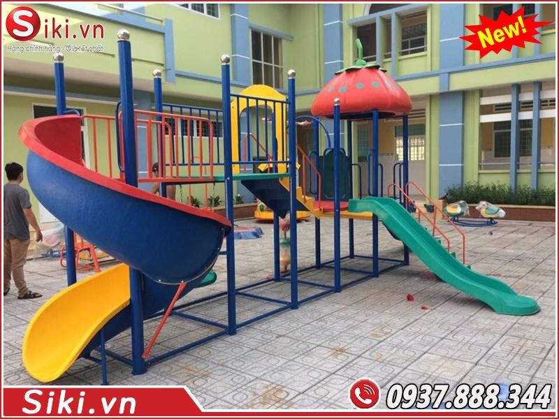 Các lợi ích khi mua cầu trượt liên hoàn tại xưởng đồ chơi trẻ em Vân Anh