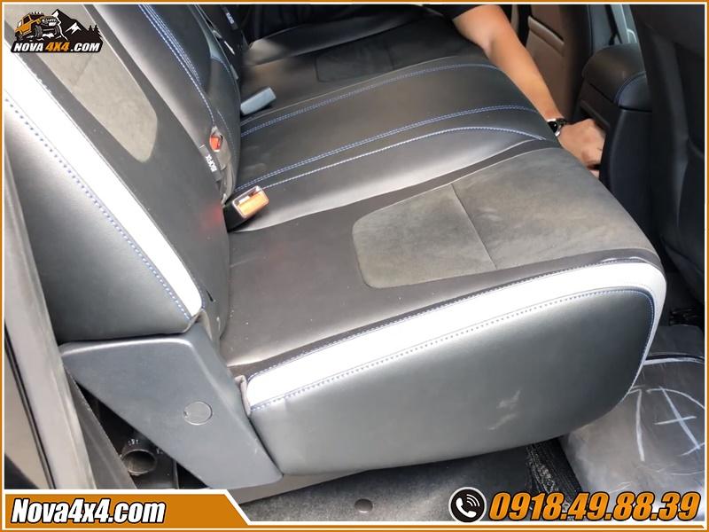 Độ ghế chỉnh điện cho xe bán tải giá cực mềm tại HCM