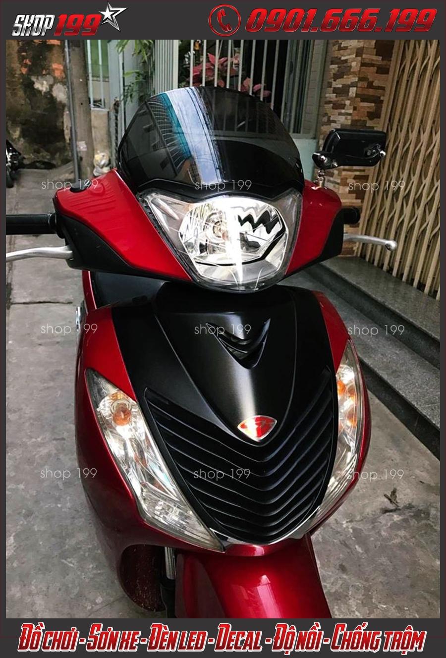Photo: đầu xe SH 2010 2011 màu đỏ đẹp và bắt mắt lên đời từ SH 2008 2007