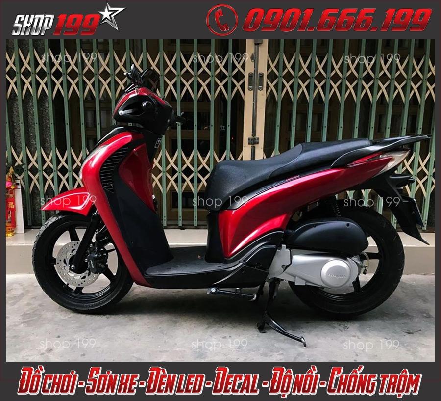 Photo: Honda SH 2006 2007 độ đẹp và lên đời SH 2010 2011