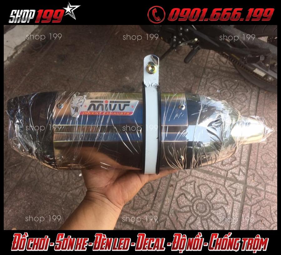 Cây pô Mivv đẳng cấp dành độ cho xe Yamaha TFX 150i