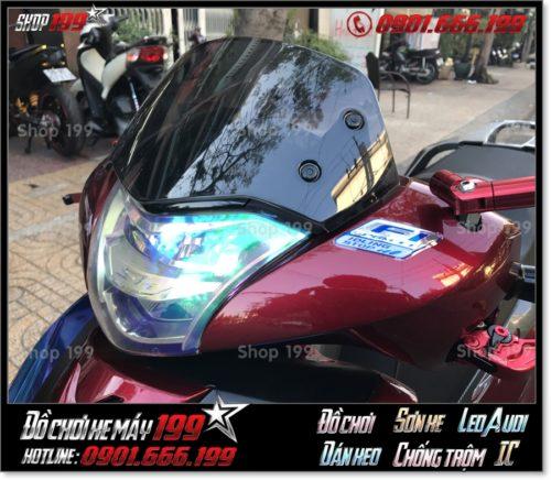 Hình ảnh xe Honda SH 150i/125i 2018 2019 2020 độ kính chắn gió nhập khẩu Thailand đẹp giá rẻ giá rẻ tại 199