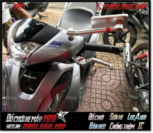 Image of thay phụ tùng kính chiếu hậu kiểu cho xe Honda SH 2018 2019 2020 125 150 giá rẻ ở SG