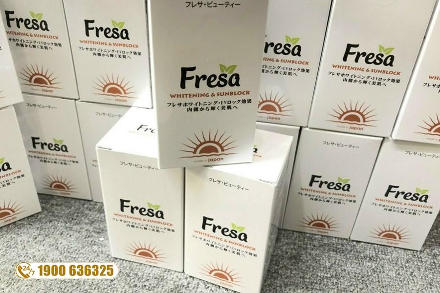 Cảm nhận về viên uống trắng da Fresa của một số chị em sau khi sử dụng sản phẩm