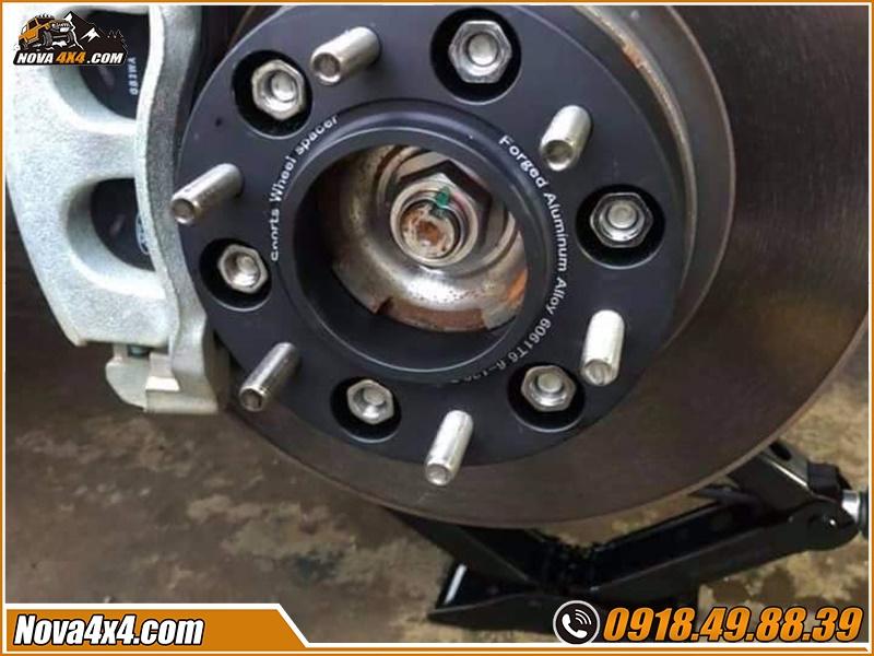 Chỉ dẫn mua Độ Wheel Spacers Xe bán tải tại HCM